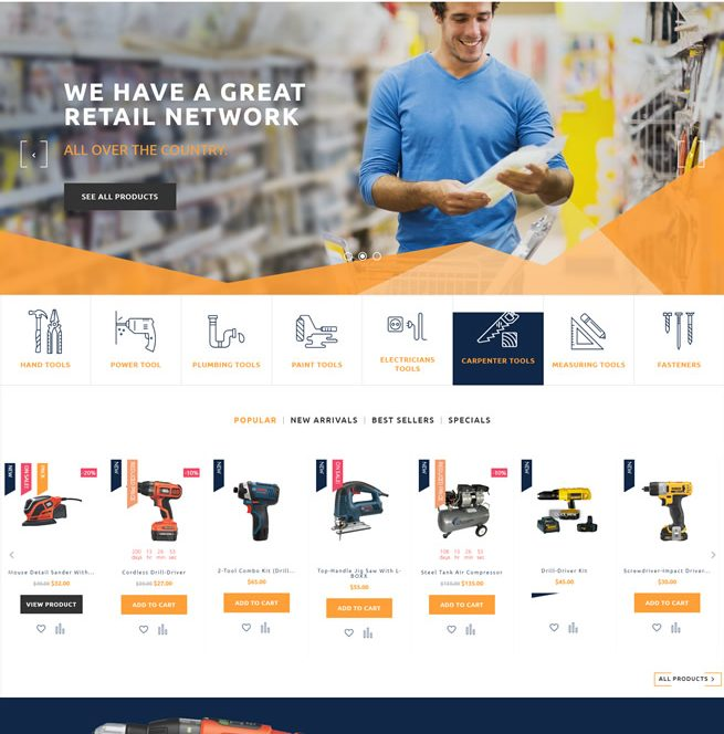 prestashop eCommerce website design