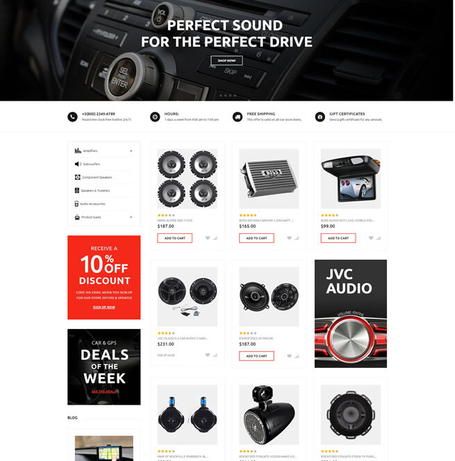 big commerce website design