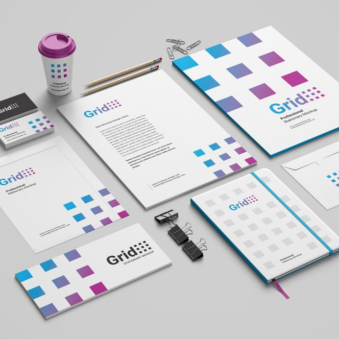 stationary design service