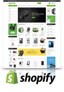 shopify ecommerce web design