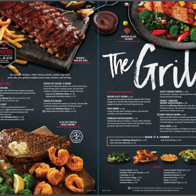 restaurant menu design service davie