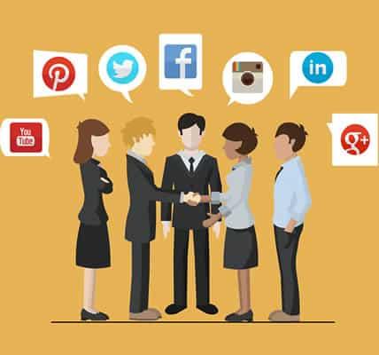 customers on social media