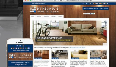 elegant flooring web design services